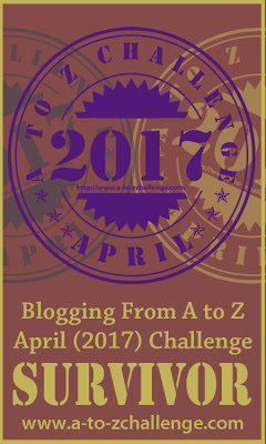#AtoZChallenge Survivor
