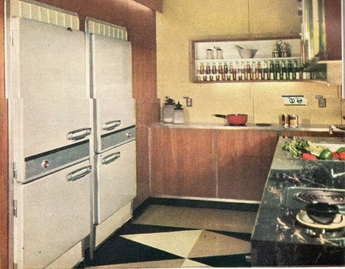 1958 style kitchen