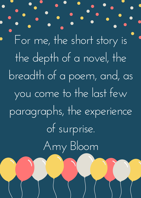 Amy Bloom short story quote