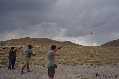 three-skeet-shooters