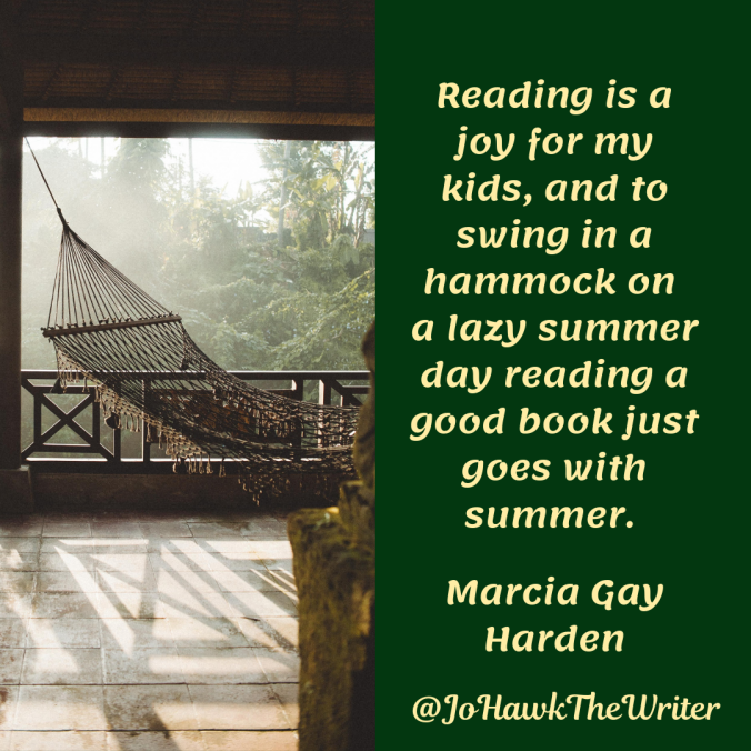 reading-is-a-joy-for-my-kids-and-to-swing-in-a-hammock-on-a-lazy-summer-day-reading-a-good-book-just-goes-with-summer.-marcia-gay-harden