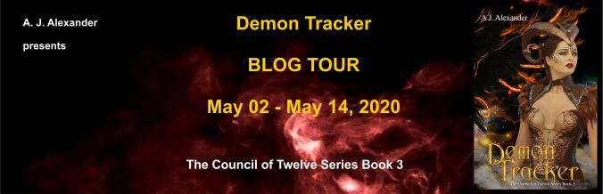 A. J. Alexander's 'Demon Tracker' Blog Tour